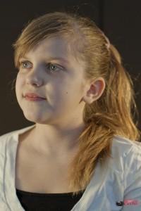 На фото - девочка Саша, Липецк