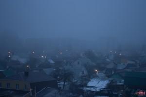 Синий туман над Липецком: поселок Мирный