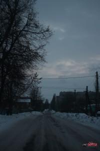 ул. Бескрайняя, Липецк, фото в сторону перекрестка с Авиационной