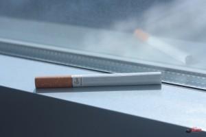Сигарета через старый Индустар 39-мм от ФЭДа, Липецк