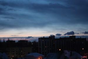 Восход в Липецке, фото снято на Индустар-50-2 блинчик, ВкусноФотки