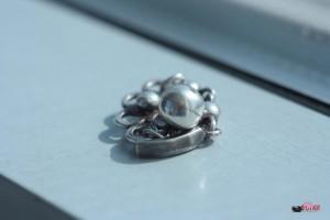 Дизайн-фото - бижутерия, серьга серебряная